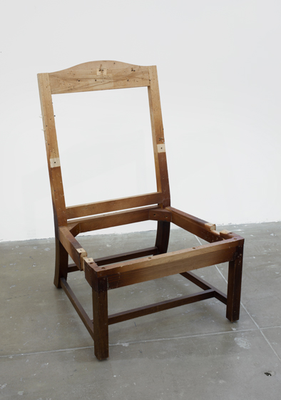 Danh Vo, Lot 20. Two Kennedy Administration Cabinet Room Chairs (2013), via Marian Goodman