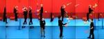 David Hockney, The Jugglers, June 24th 2012 (2012), via ArtInfo
