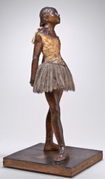 Edgar Degas, Dressed Ballet Dancer (Petite Danseuse de Quatorze Ans), via New York Times