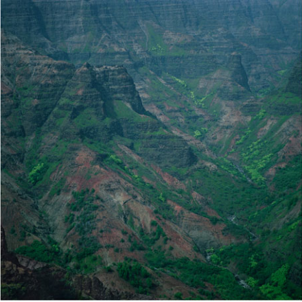 Darren Almond, Waimea Canyon (2012), via Matthew Marks Gallery