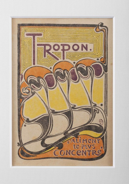 Henry van de Velde, Tropon Poster (1898), Courtesy The Neue Galerie New York