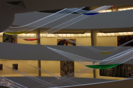 Gutai Splendid Playground (Installation View), via Ross Maddux for Art Observed