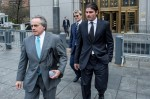Helly Nahmad leaves court Friday, via New York Times