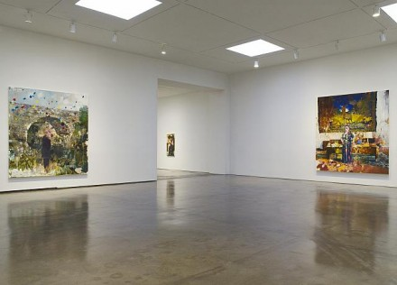 Adrian Ghenie, New Paintings (Installation view), Courtesy Pace Gallery