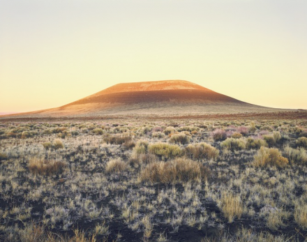 James Turrell, Roden Crater (Sunset) (2009), via PACE Gallery