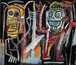 Jean-Michel Basquiat, Dustheads (1982), via Wall Street Journal