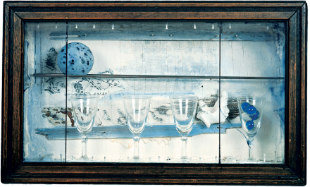 Joseph Cornell, Celestial Navigation (1958), via The Whitney Museum
