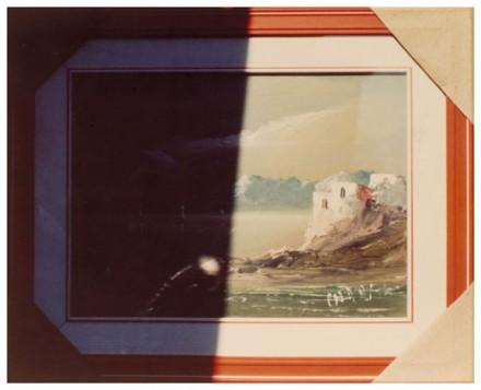 Luigi Ghirri, Modena (1975), via Matthew Marks Gallery