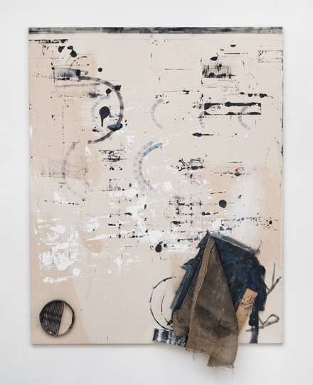 Rosy Keyser, Ice Fishing (2013), Courtesy Peter Blum Gallery, New York