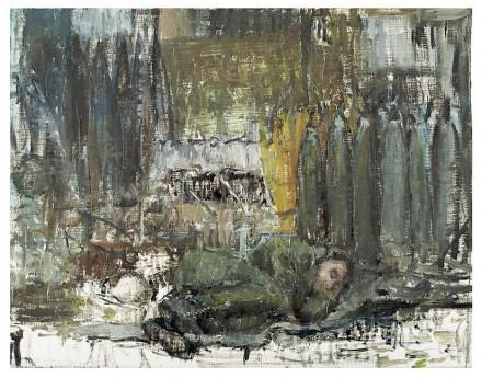 Sabine Moritz, Sleeper I (2010), via Marian Goodman