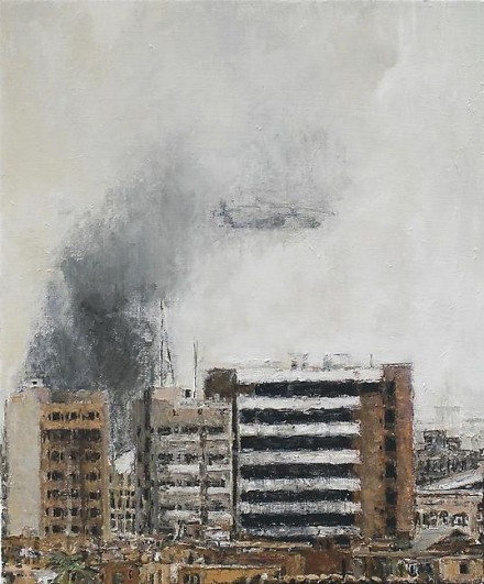 Sabine Moritz, Smoke (2007), via Marian Goodman