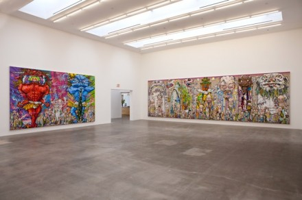 Takashi Murakami Arhat (Installation View), 2013 Blum & Poe, Los Angeles ©2013 Takashi Murakami/Kaikai Kiki Co., Ltd. All Rights Reserved. Image courtesy of the artist and Blum & Poe, Los Angeles