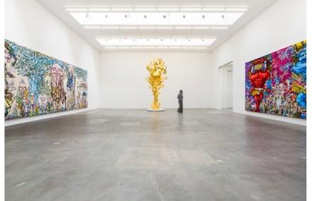 Takashi Murakami, Arhat (Installation View), via Complex