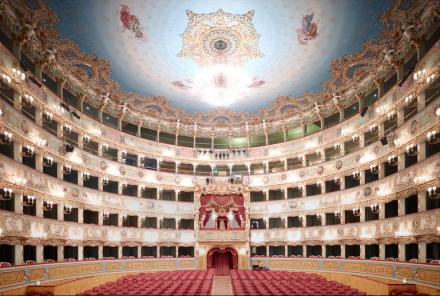 Candida Höfer, Teatro La Fenice Di Venezia V (2011), Courtesy Ben Brown Fine Arts