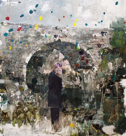 Adrian Ghenie, The Death of Charles Darwin (2013), Courtesy Pace Gallery