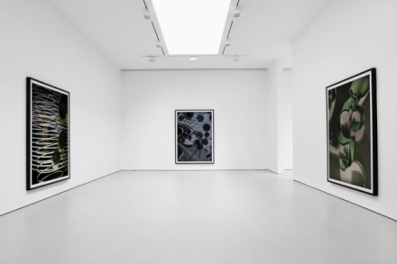 Thomas Ruff, photograms (Installation View), via David Zwirner