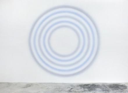 Ugo Rondinone, Neunterfebruarzweitausendunddreizehn (2013), via Almine Rech