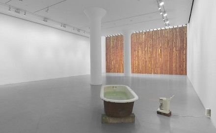 Virginia Overton, (Installation View), via Mitchell-Innes & Nash