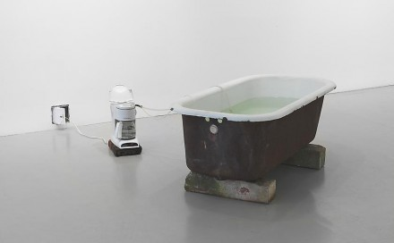 Virginia Overton, Untitled (hot tub) (2013), via Mitchell-Innes & Nash