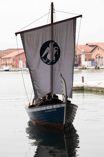 "Ragnar Kjartansson's ""S.S. Hangover"" Disembarks from the Arsenale"