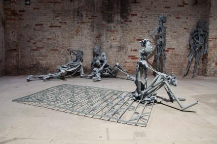 Pawel Althamer's The Venetians