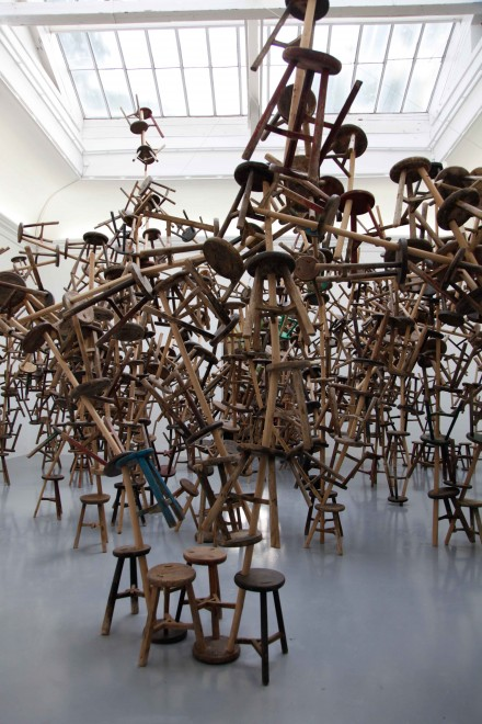 Ai Weiwei, Bang, at the German Pavilion