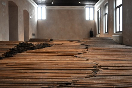Ai Weiwei, Straight (Installation View) (2013)