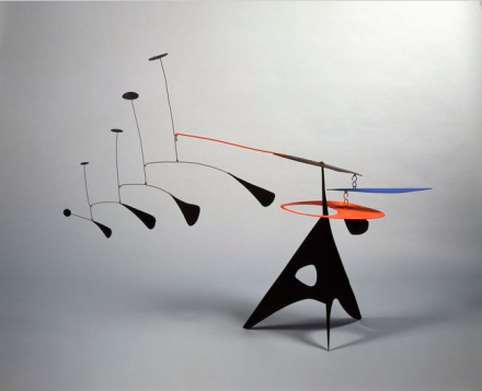 Alexander Calder, Blue Feather (1948), Courtesy of Pace London