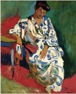 André Derain's Madame Matisse in a Kimono