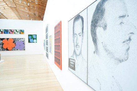 Andy Warhol (Installation View), via interview
