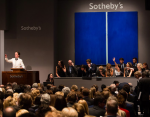 Barnet Newmann sells at Sotheby's Auction, via Sotheby's