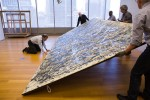 Conservators Move Pollock's One to get a Perspective from the Floor, via The New York Times