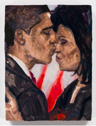 Elizabeth Peyton, Barack and Michelle (2008-2013), via Gavin Brown's Enterprise
