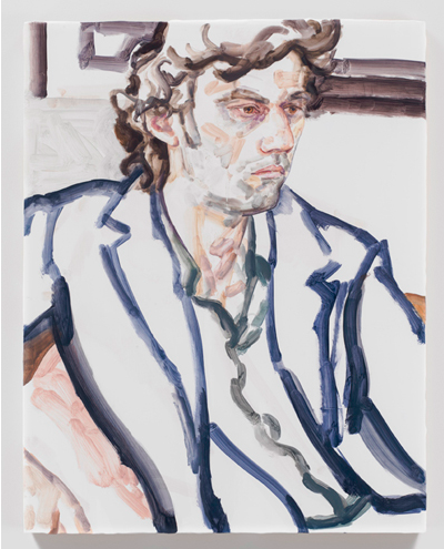Elizabeth Peyton, Jonas Kaufmann, March 2013, NYC (2013), via Gavin Brown's Enterprise