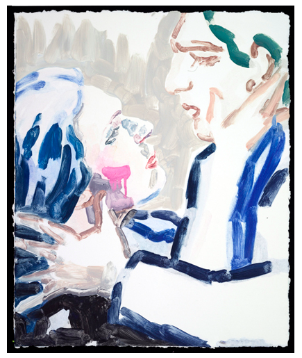 Elizabeth Peyton, Waltraud Meier (Tristan and Isolde) #3, NYC (2013), via Gavin Brown's Enterprise