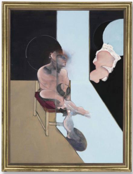 Francis Bacon, Study for Portrait (1981), via Christie's