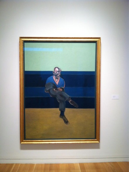 Francis Bacon, Study for a Portrait of P.L. (1962), via Daniel Creahan for Art Observed