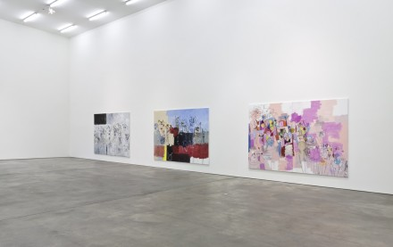 George Condo, Paintings & Sculpture (Installation View), via Sprüth Magers Berlin