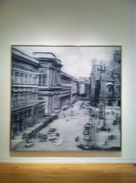 Gerhard Richter, Domplatz, Mailand (1968), via Daniel Creahan for Art Observed