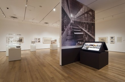 Henri Labrouste, Structure Brought to Life (Installation view), Courtesy of MoMA