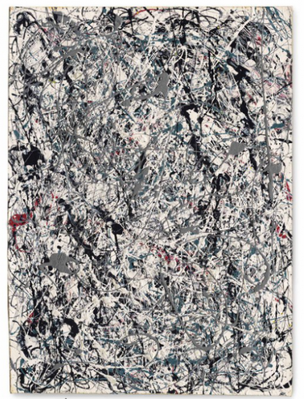 Jackson Pollock, Number 19, 1948 (1948), via Christie's
