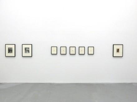 John Stezaker,  (Installation View), via Petzel Gallery
