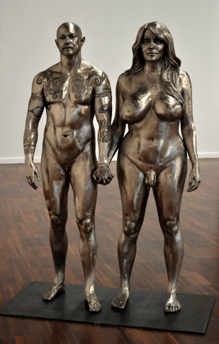 Marc Quinn, Buck and Allanah (2009)