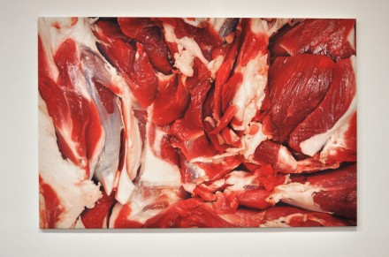 Marc Quinn, Flesh Painting (On Marble) (2012)