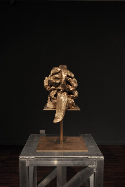 Marc Quinn, Meat Head (Dematerialised) (2003)