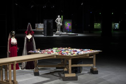 Mike Kelley, Eternity is a Long Time (Installation View), Photo by Agostino Osio Courtesy Fondazione HangarBicocca, Milan All Mike Kelley works © Estate of Mike Kelley All rights reserved  2