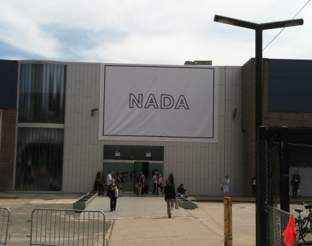 Outside the NADA Art Fair