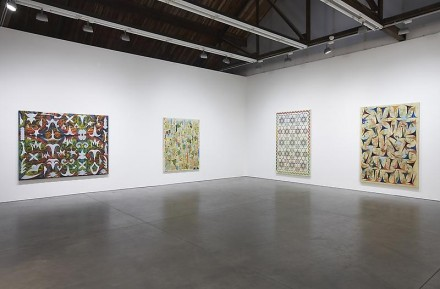 Philip Taaffe, Recent Work (Installation view), courtesy Luhring Augustine Gallery