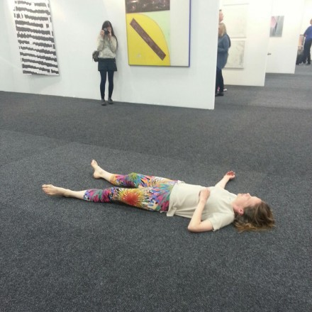 Rebecca Brooks's S.S., performance at NADA