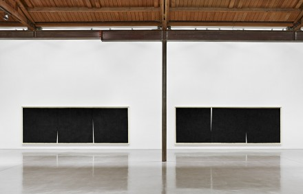 Richard Serra, Double Rifts (Installation View),  All artwork © Richard Serra. Courtesy of the artist and Gagosian Gallery. Photography by Douglas M. Parker Studio. 2
